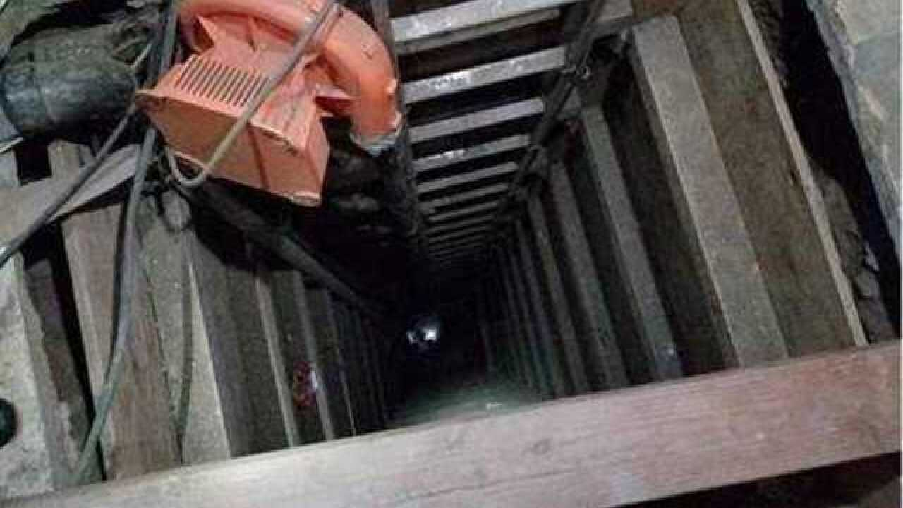Cross-border tunnel found in Jacumba