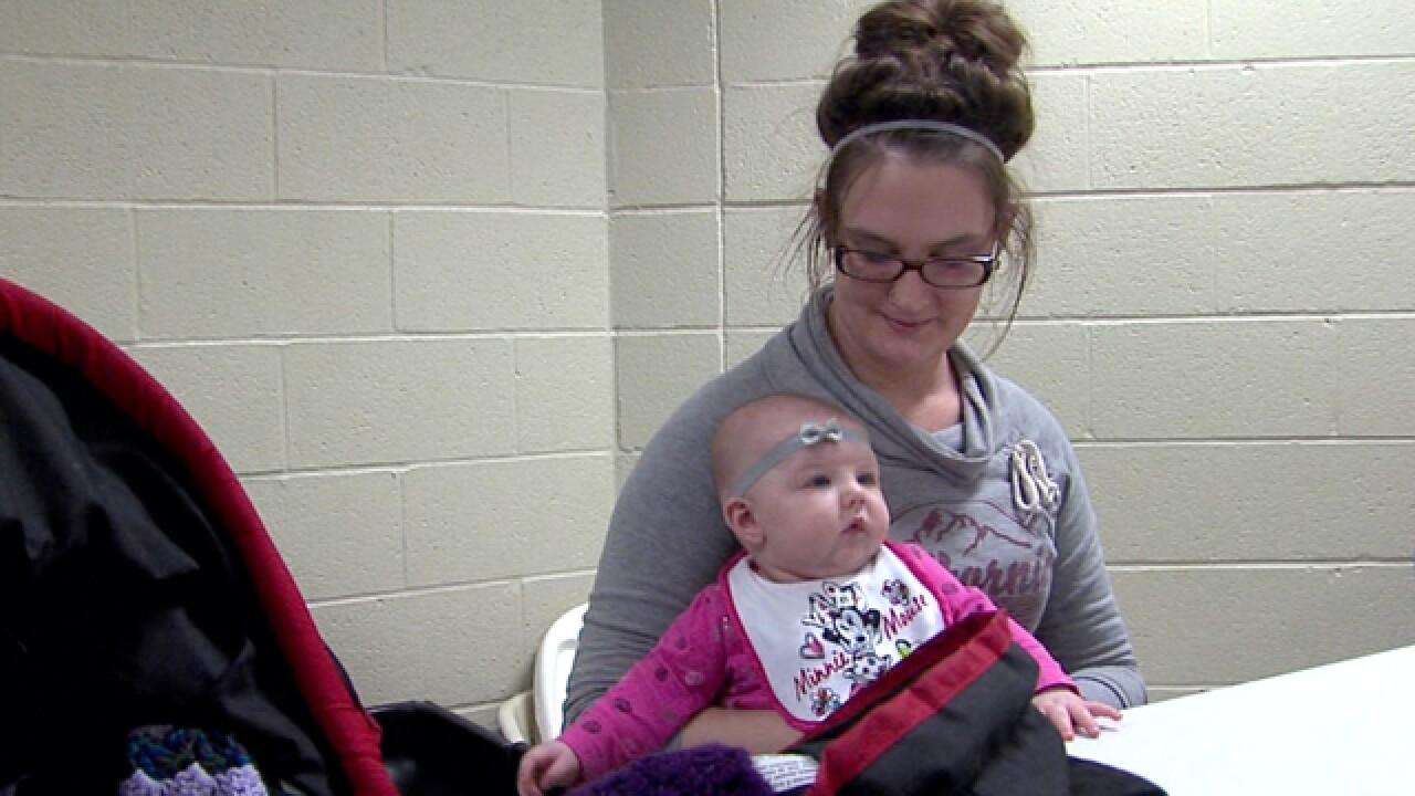 Homeless mothers turned away, shelters full