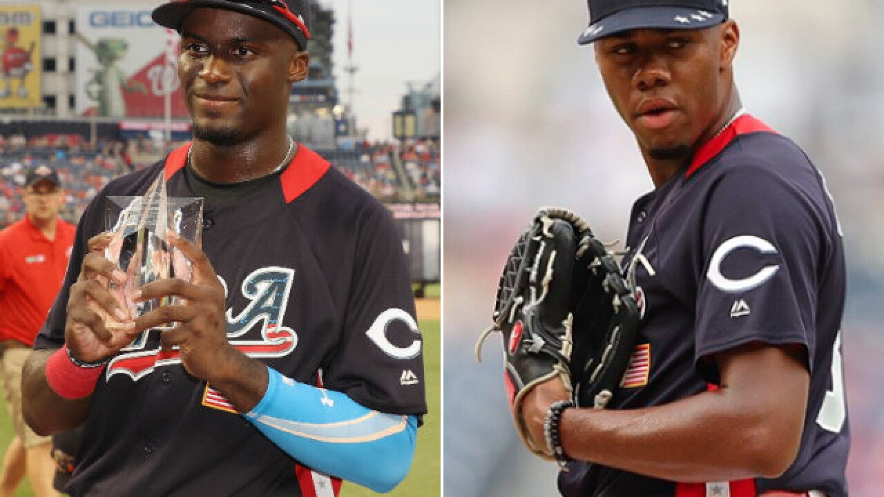 Reds prospects Taylor Trammell, Hunter Greene steal spotlight in Futures Game