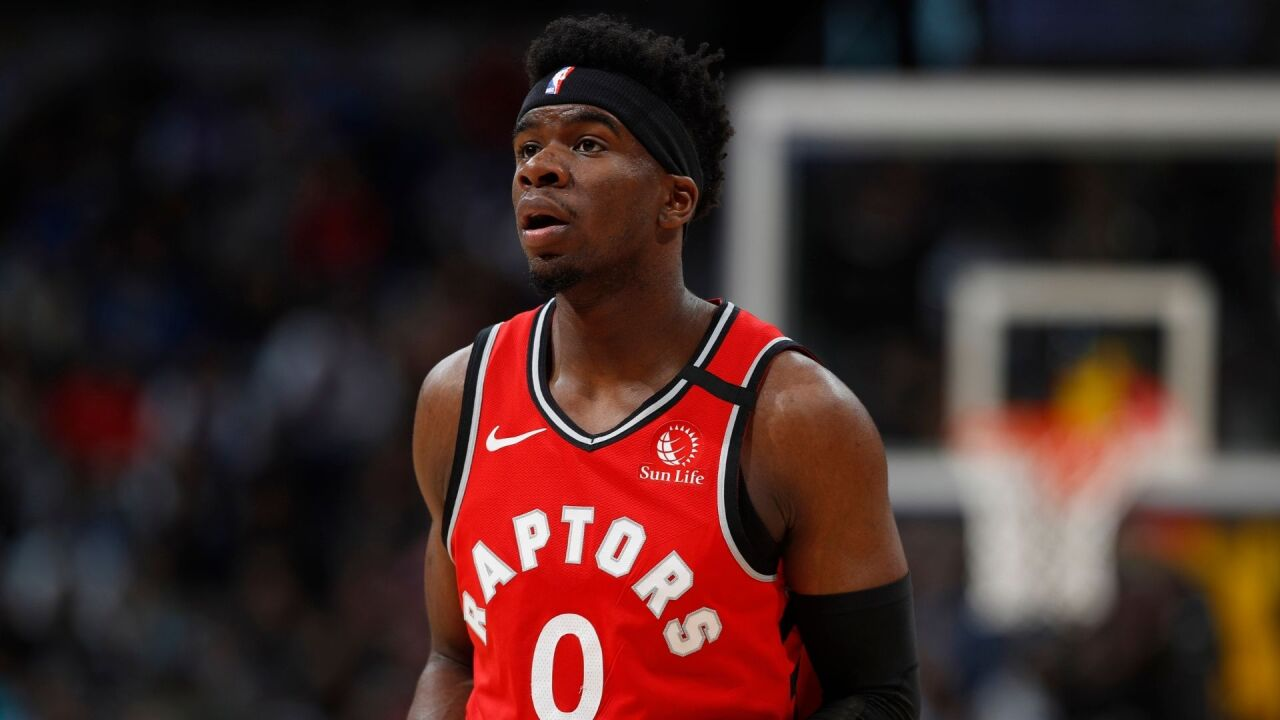 Terence Davis: Toronto Raptors player arrested in Manhattan for alleged assault of girlfriend