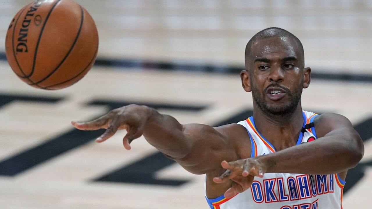 Thunder reportedly trade All-Star guard Chris Paul to Phoenix Suns