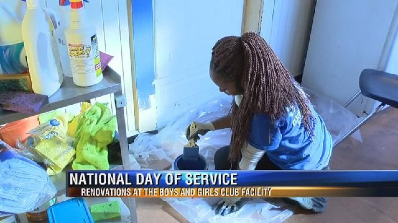 Miccosukee Boys and Girls Club Gets Makeover on MLK Day