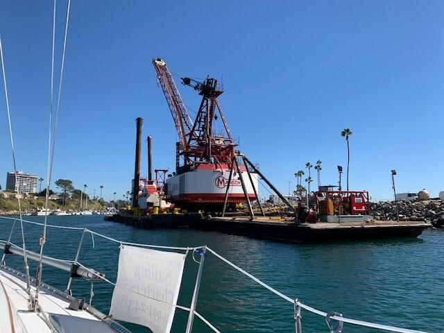 PHOTOS: Dredging project underway in Oceanside