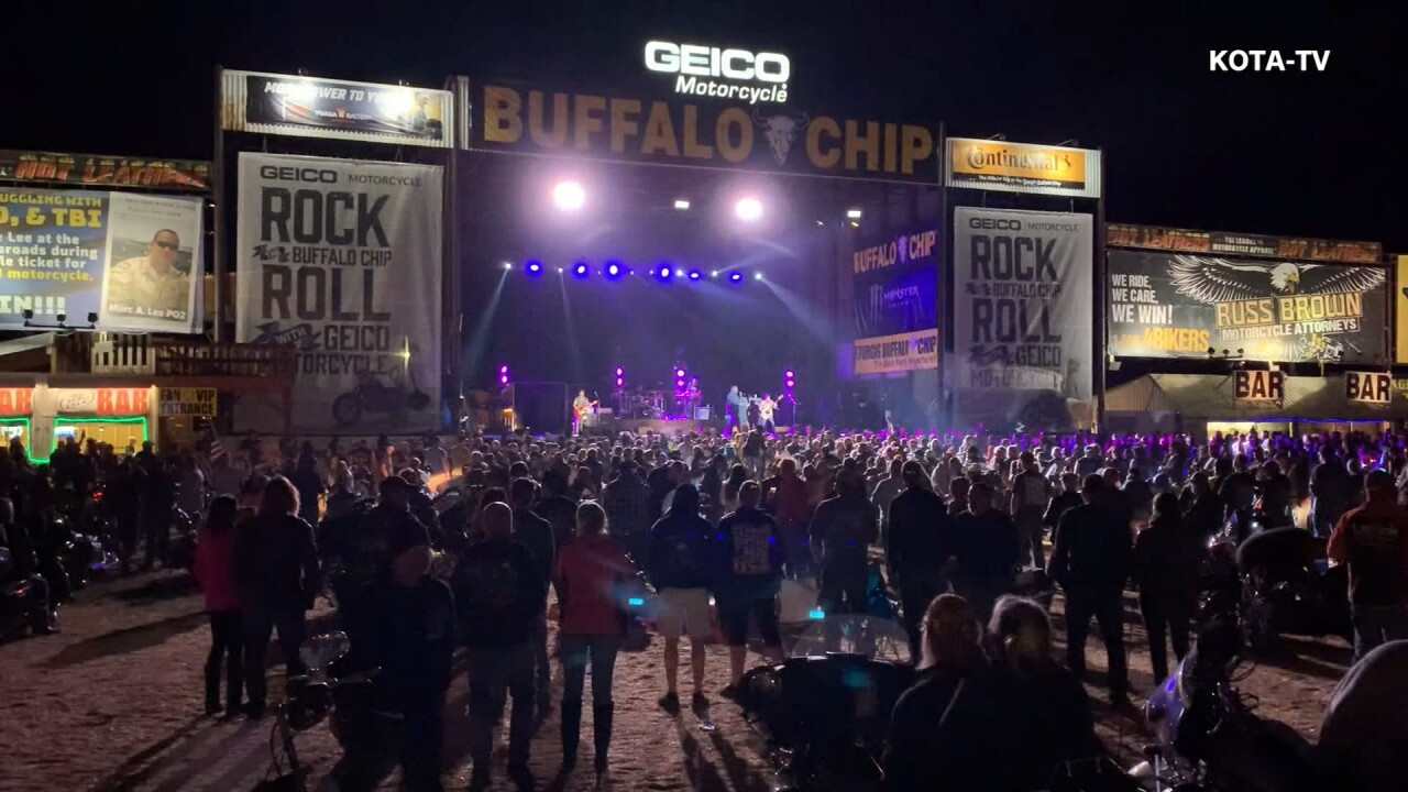 Smash Mouth plays to mostly mask-less Sturgis crowd; rally attendance down only slightly