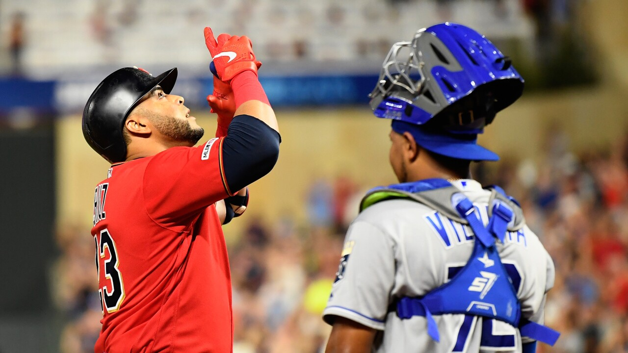 Kansas City Royals v Minnesota Twins Nelson Cruz