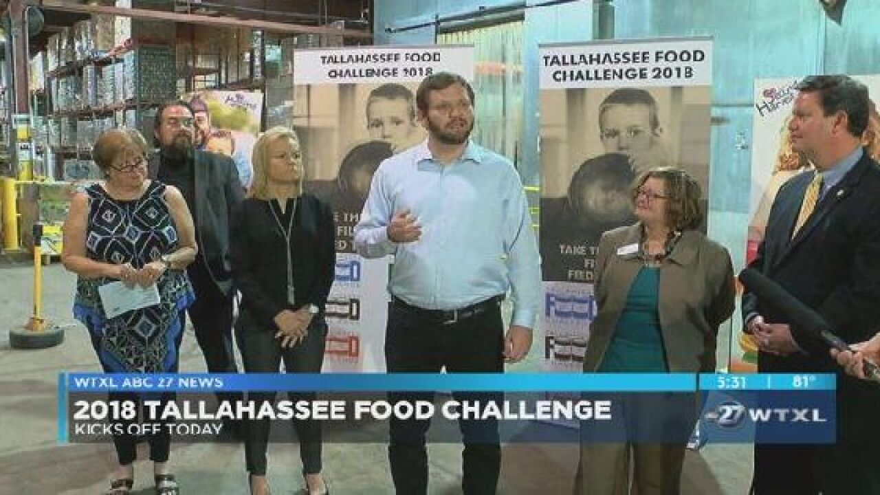 Local leaders announce kick-off of Tallahassee Food Challenge