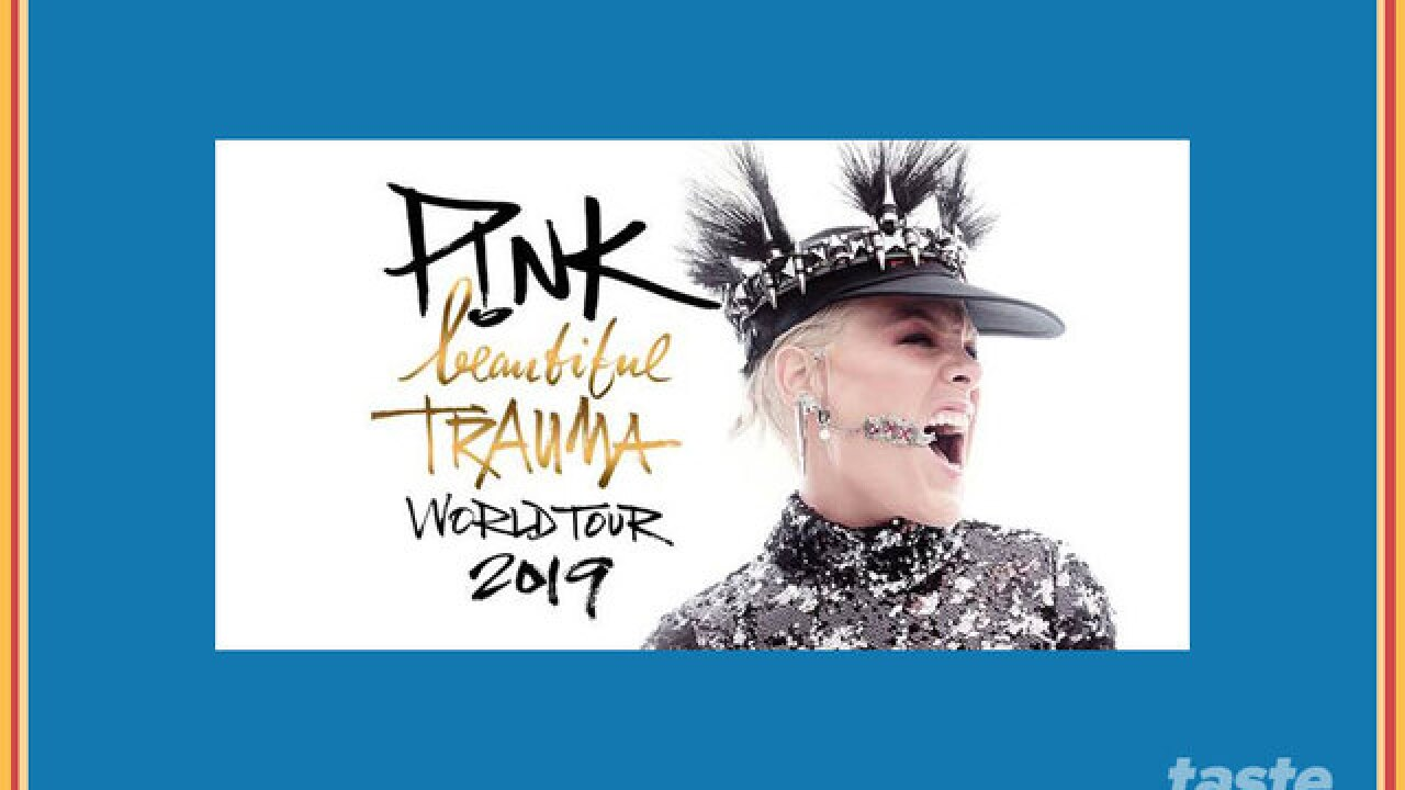 Concert Alert P Nk Coming To The Bb T Center