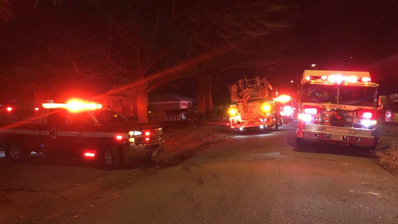 Person found dead in burning Norfolk home