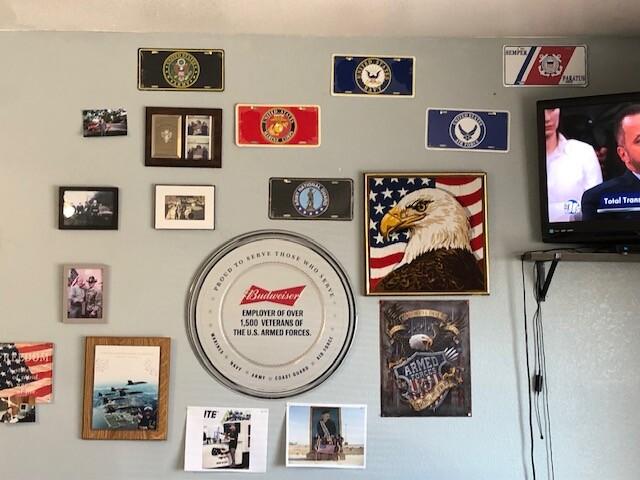 patriotic memorabilia