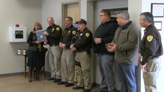 LCSO honored for role in North Hills and Horsefly wildfires