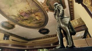 Thomas Jefferson statue New York City Hall