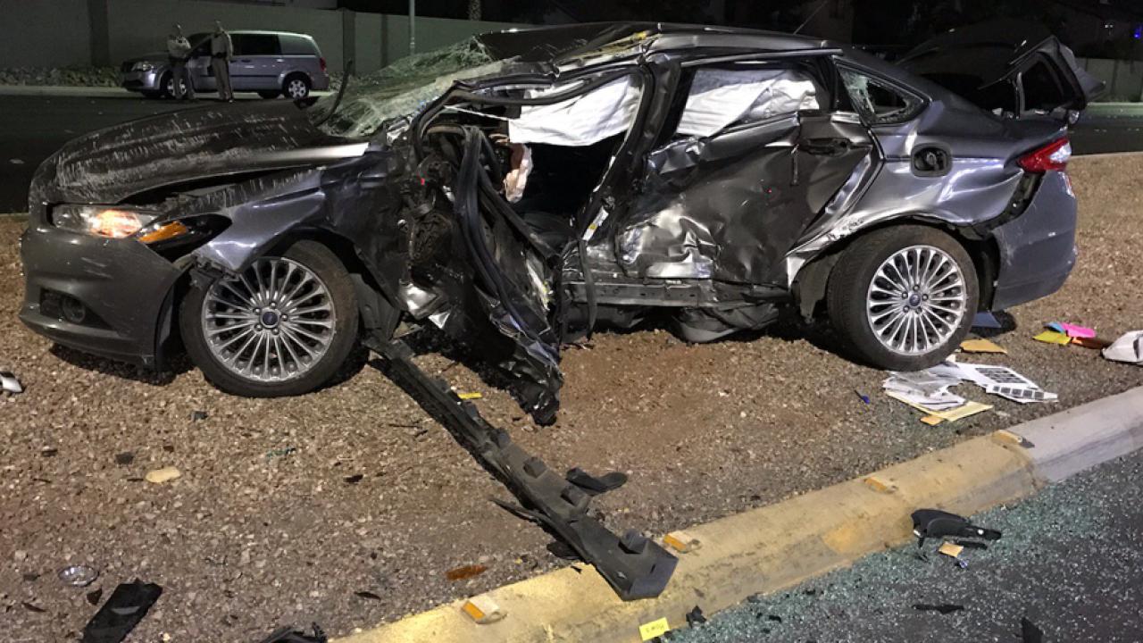 Las Vegas Car Accident >> Man From Tehachapi Killed In Dui Crash In Las Vegas