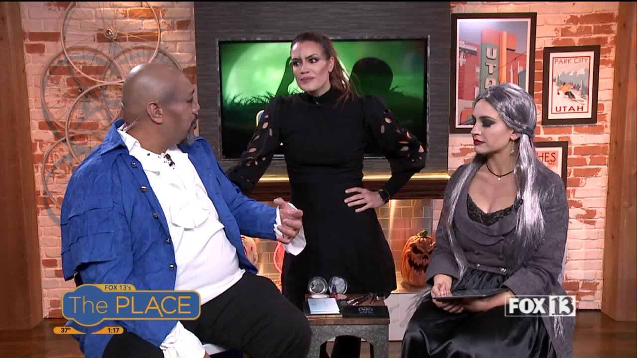 How the hosts got their vampy Halloween looks for2019