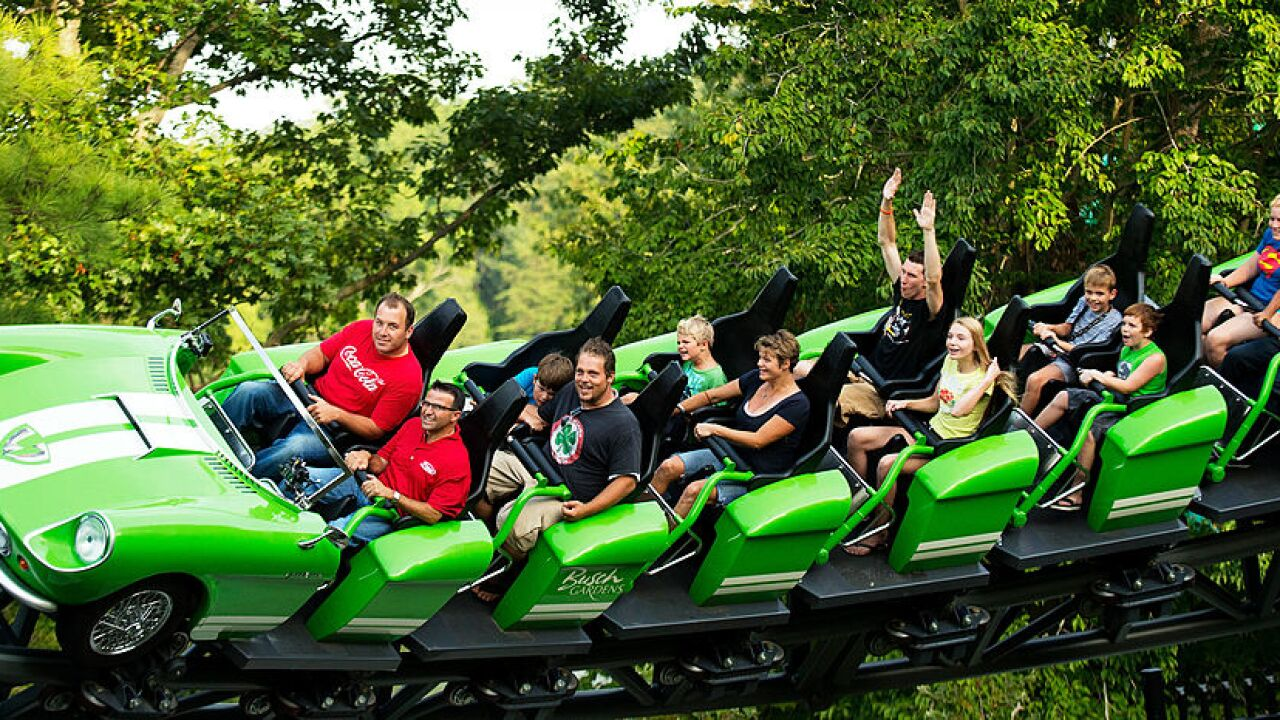 Veterans and up to three guests can enjoy free Busch Gardens admission