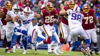 Redskins lose to Bills in rookie quarterback Dwayne Haskins' first NFL start,24-9