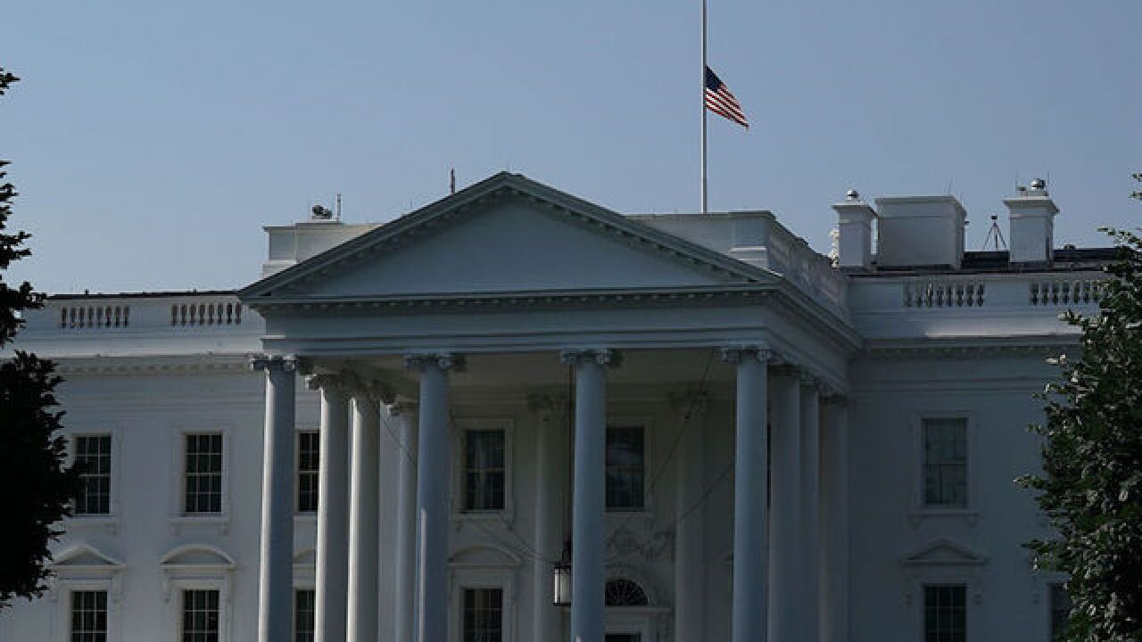 Flags ordered at half-staff following shooting