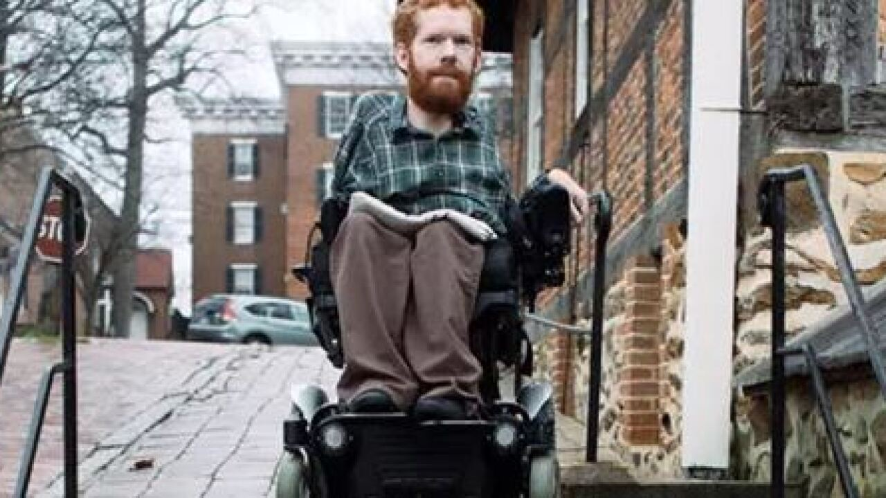 Man with muscular dystrophy plans to backpack in Europe as a 'backpack'
