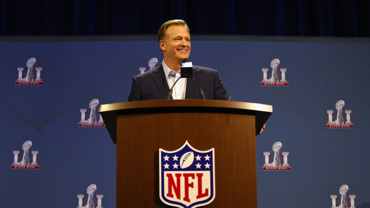NFL Commissioner Roger Goodell to reveal NFL Draft selections from his basement