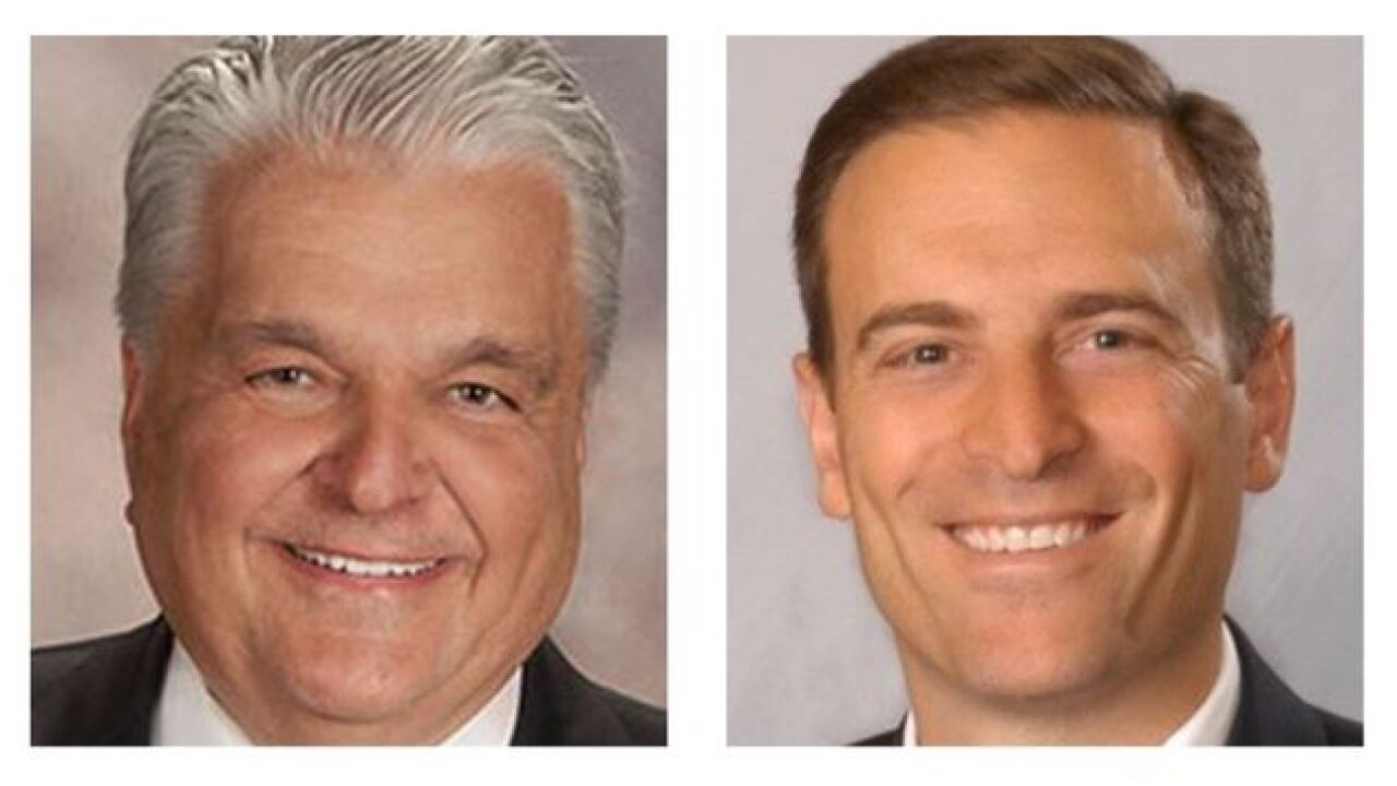 Nevada governor's race: Sisolak leads Laxalt in fundraising