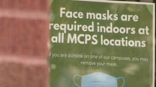 MCPS Mask Sign