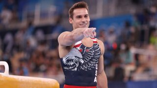 U.S. finishes fifth in men's gymnastics team final for third straight Olympics