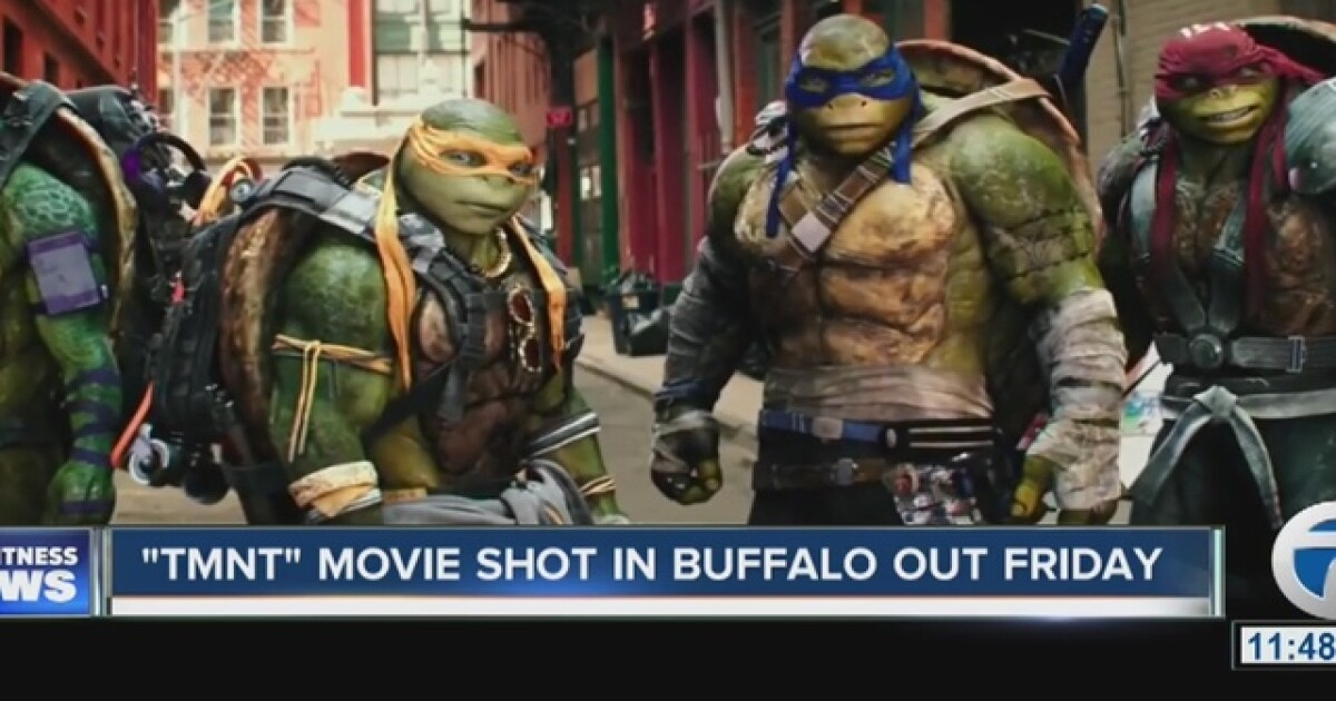 Tmnt Movie Shot In Buffalo Out Friday