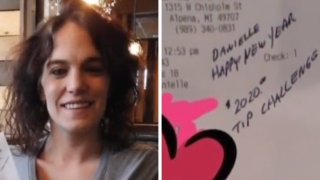 Single mother in Michigan gets $2,020 tip on $23 bill ahead of new year