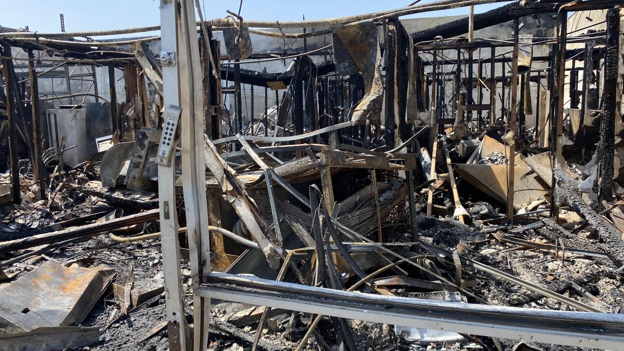 Valley Feeding fire July 29, 2021