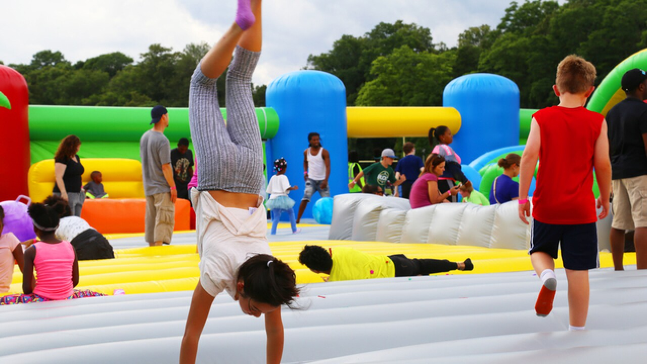 GALLERY: Bouncing at the World's Largest Bounce House