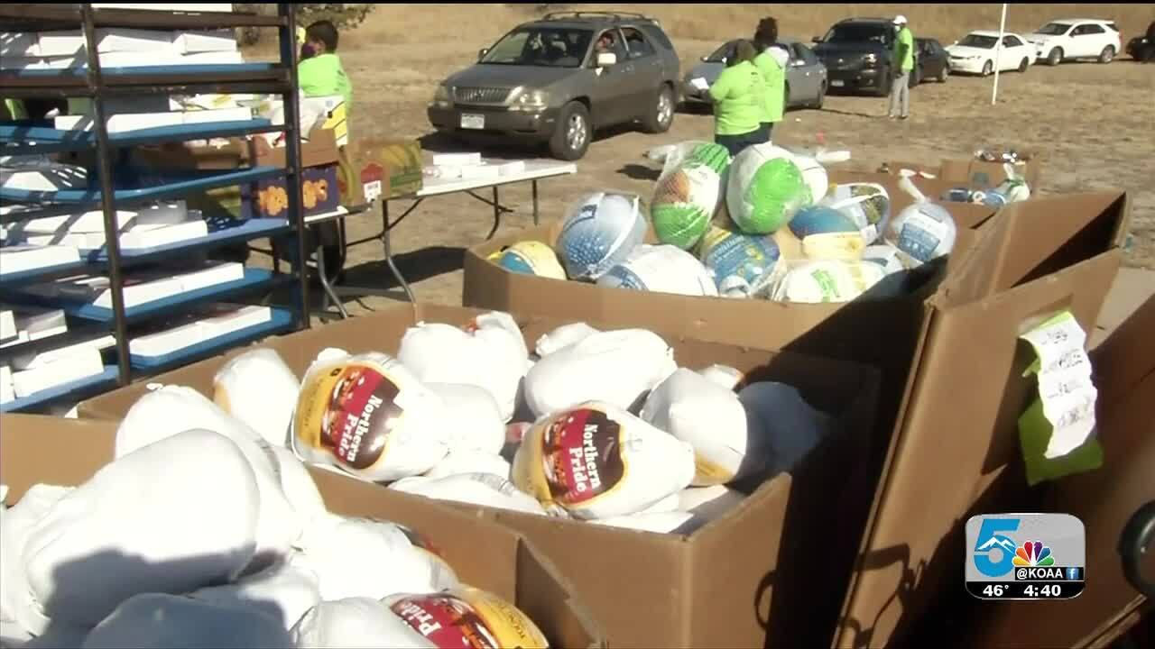 Christian House of Prayer food giveaway