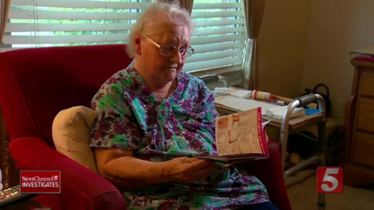 Grandmother Finds $800 In Unauthorized Charges