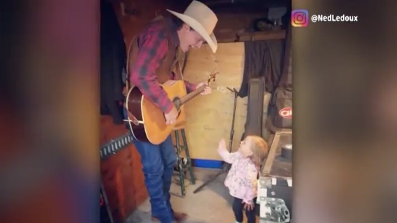 "Country singer Ned LeDoux said on Facebook that his two-year-old daughter Haven died in a ""tragic choking accident"" at their home on October 20, 2019."