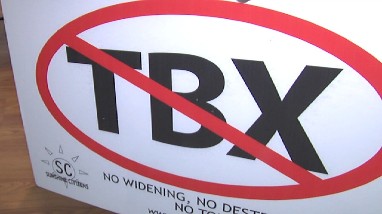 Millions pulled from TBX project