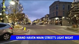 Grand Haven Main Street's Light Night