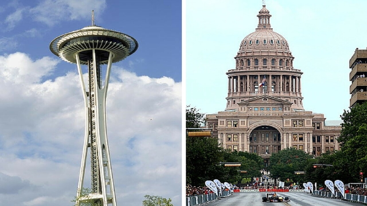 The top 20 cities for young professionals