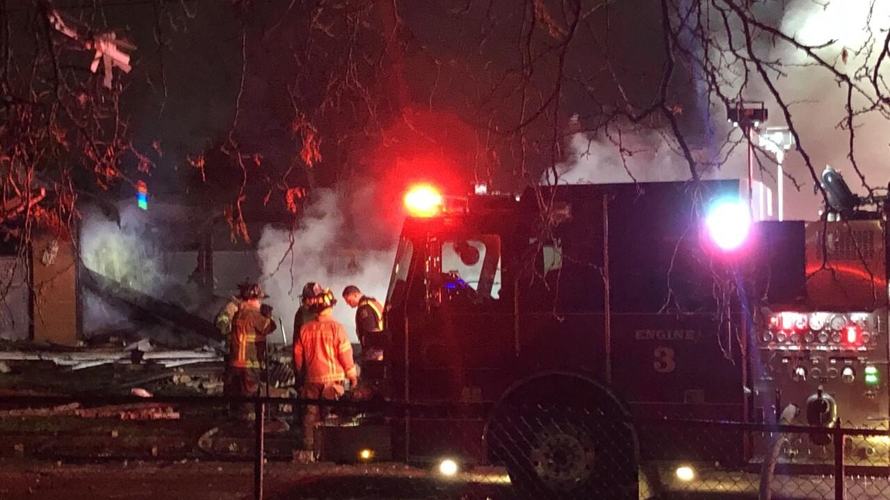 Warren Fire Investigation