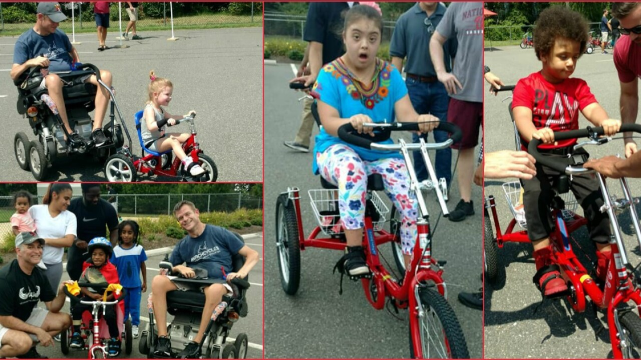 21 more kids gifted adaptive bikes: 'Ride with your brothers and sisters'