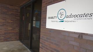 Disability Advocates of Kent County Signage Outside