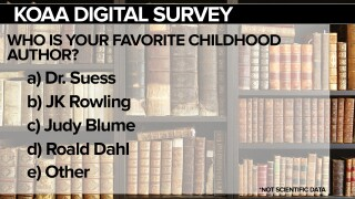 KOAA Survey: Who is your favorite childhood author?