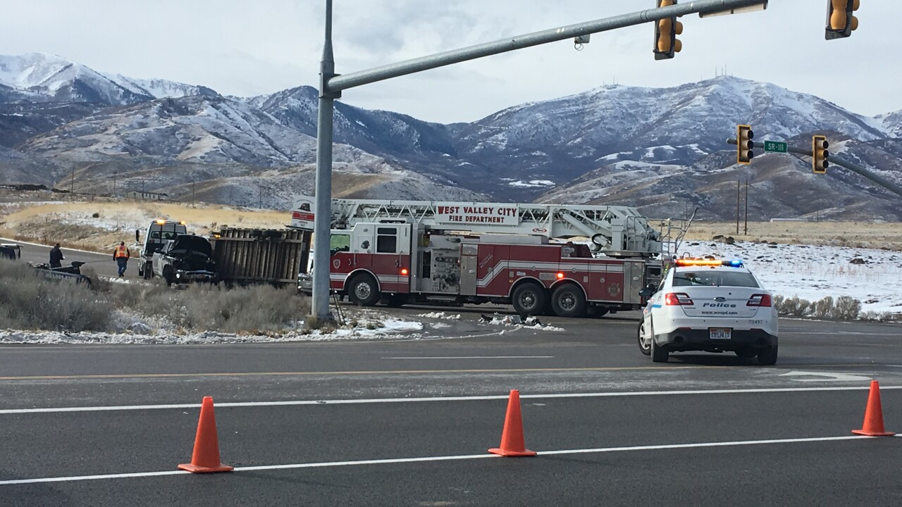 19-year-old woman dies in automobile crash in West Valley City