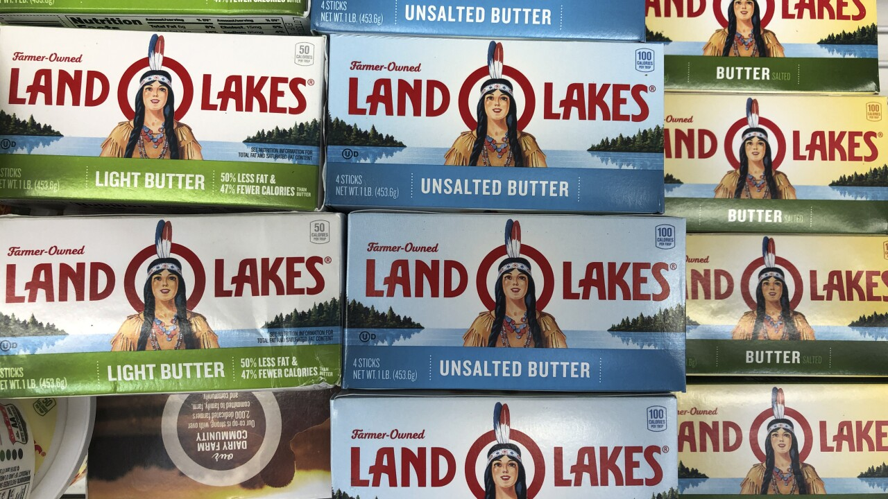 Land O'Lakes removing native American woman from packaging