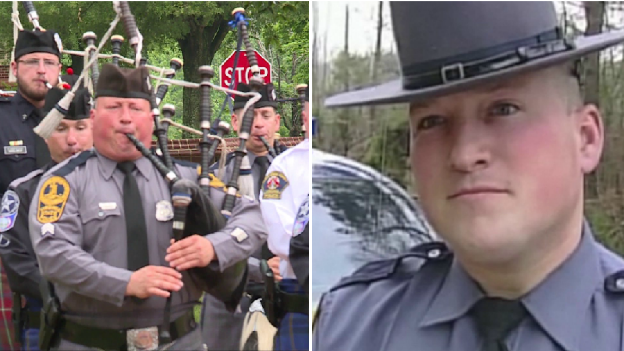 Virginia State Trooper's 'Amazing Grace' starts a powerful movement withmusic