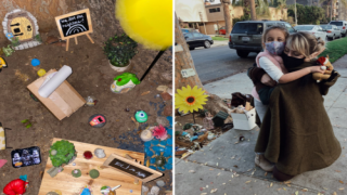 A Lonely 4-year-old Set Up A Fairy Garden And Her Neighbor Played Along In The Sweetest Way