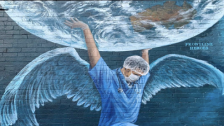Artists Are Painting Inspiring Murals On Shuttered Storefronts To Brighten City Streets During The Pandemic