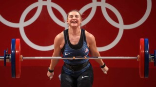 Tokyo Olympics weightlifting in review: Record lifts, rare U.S. success