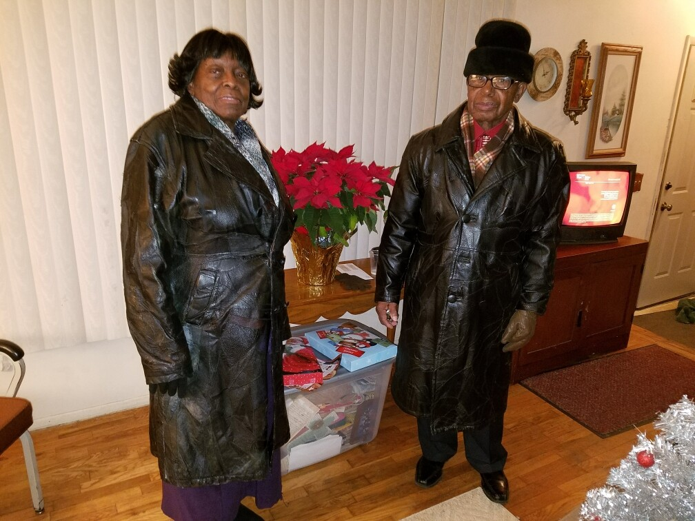 Bernice and Ulysses have lived in their Lansing home since 1978