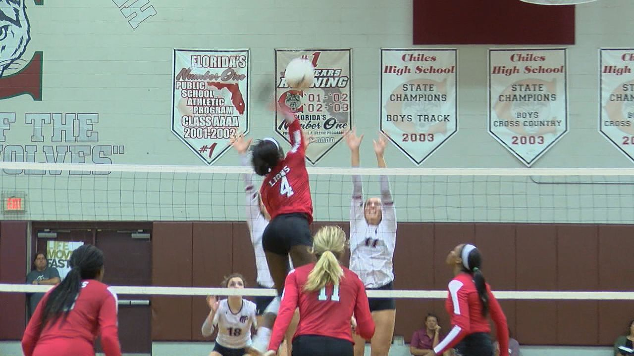 Leon tops Chiles in District volleyball Tuesday