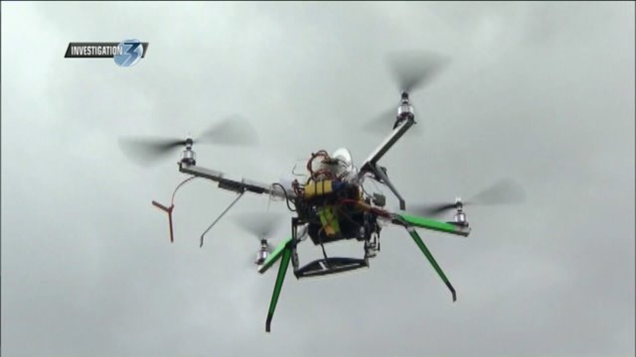 FAA drone database shows local close calls