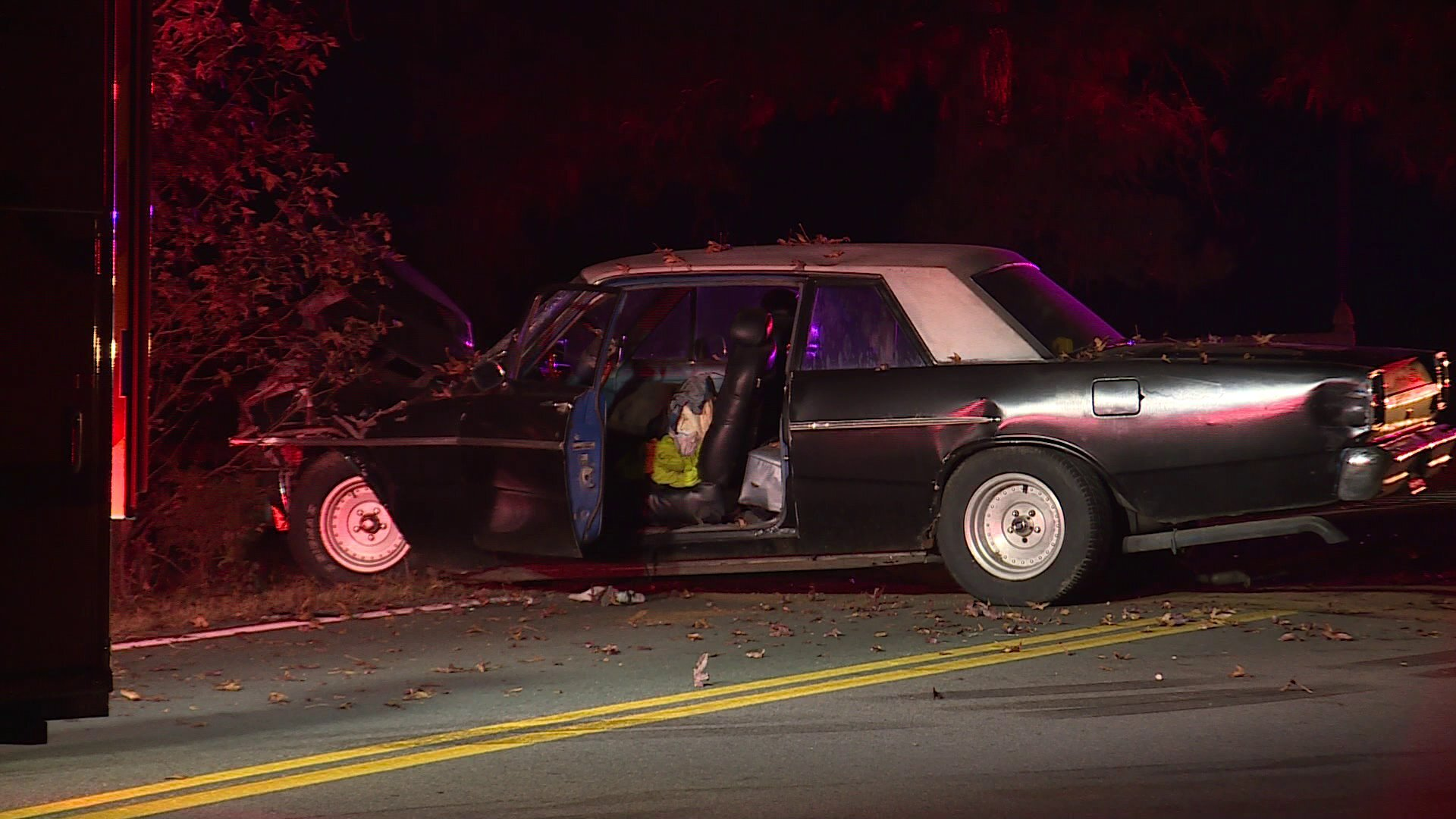 Photos: Man seriously injured after striking tree in Chesterfield crash