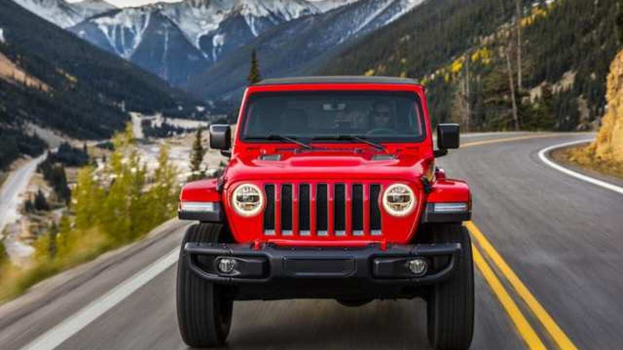 2018-19 Jeep Wranglers to be recalled for problem with frame
